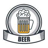 Drinks menu restaurant isolated icon. Illustration design Royalty Free Stock Image