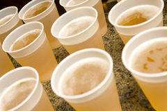 Drinks On Table Royalty Free Stock Photo
