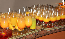Drinks at the Party Royalty Free Stock Images