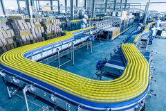 Drinks production plant in China.  Stock Images