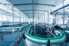 Drinks production plant in China Royalty Free Stock Photography