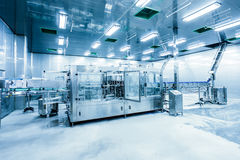 Drinks production plant in China Royalty Free Stock Images