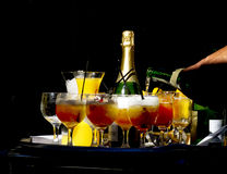 Drinks Are Ready Stock Photography