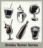 Drinks Series Royalty Free Stock Photos