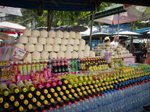 Drinks street vendor Stock Photo