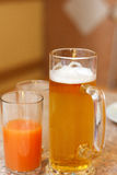 Drinks on the table Stock Image