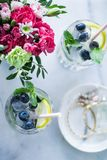 drinks for warm weather party stock photography