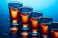 drinkshots Royaltyfri Bild