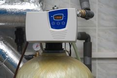 Drinkwaterbehandeling Stock Afbeelding