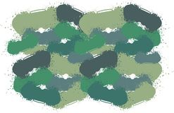 Drip camouflage Stock Image