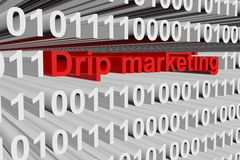 Drip marketing Stock Photography