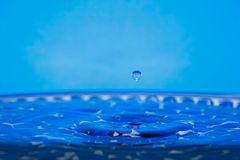 Drip of water Royalty Free Stock Photo