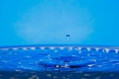 Drip of water. Falling; drop Royalty Free Stock Photo