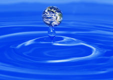 Drip water Royalty Free Stock Images