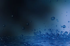 Dripped water Stock Photos