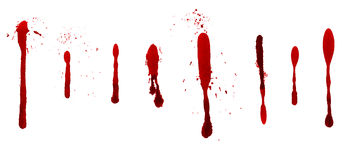 Dripping blood Royalty Free Stock Image