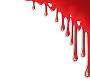 Dripping blood decoration Stock Images