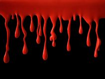 Dripping blood Royalty Free Stock Images