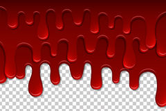 Dripping blood  pattern Royalty Free Stock Images
