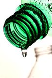 Dripping Bottle Abstract Stock Photo