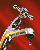 Dripping Faucet Stock Photography