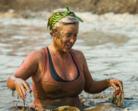 Dripping in the mud Stock Photos
