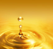 Dripping oil Stock Photos