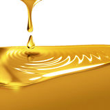 Dripping oil Stock Photography