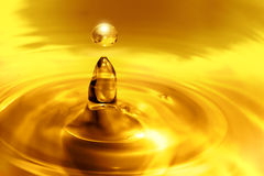 Dripping oil Stock Image