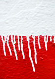 Dripping paint Stock Photography
