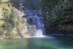 Dripping Springs Falls Royalty Free Stock Image