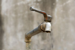 Dripping tap Royalty Free Stock Photography