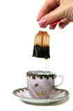 Dripping Tea bag Stock Photos