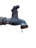 Dripping water faucet royalty free stock photo