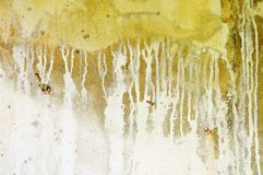 Drippy wall Royalty Free Stock Photos
