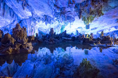 Dripstone cave, Reed Flute Cave, Ludi Yan, Guilin, Guangxi, China