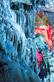Dripstone cave (Reed flute cave) Stock Photos