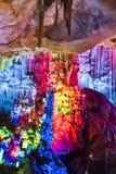 Dripstone grotta Royaltyfri Bild