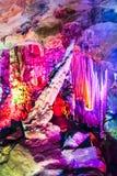 Dripstone grotta Arkivfoton