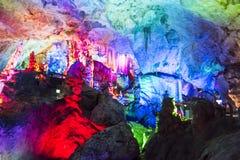 Dripstone grotta Arkivfoto