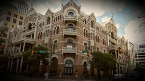 The Driskill Hotel Stock Photo