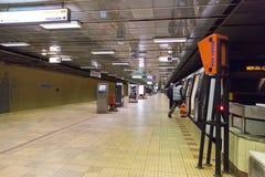 Dristor 2 gångtunnelstation Arkivfoton