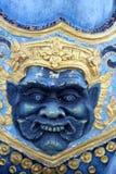 Drittes Auge der riesigen Statuen Stockbilder