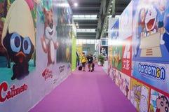 Drittes internationales Markengenehmigen Shenzhens und Ableitungen Ausstellung Stockfotos
