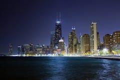 Drive ακτών λιμνών του Σικάγου στοκ εικόνες
