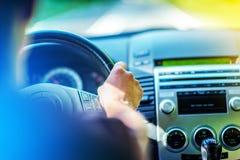 Drive θερινών αυτοκινήτων Στοκ φωτογραφία με δικαίωμα ελεύθερης χρήσης