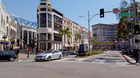 Drive ροντέο στο Μπέβερλι Χιλς - αποκλειστικά καταστήματα - ΛΟΣ ΑΝΤΖΕΛΕΣ,  φιλμ μικρού μήκους
