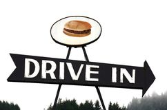 Drive In Royalty Free Stock Photos