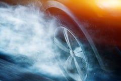 Drive δυνατής βροχής Στοκ Εικόνες