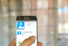 Drive app σύννεφων του Αμαζονίου Στοκ φωτογραφίες με δικαίωμα ελεύθερης χρήσης